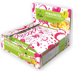 Hiba Purafruta Energy Bar Box 12x30g, Fruit Mix
